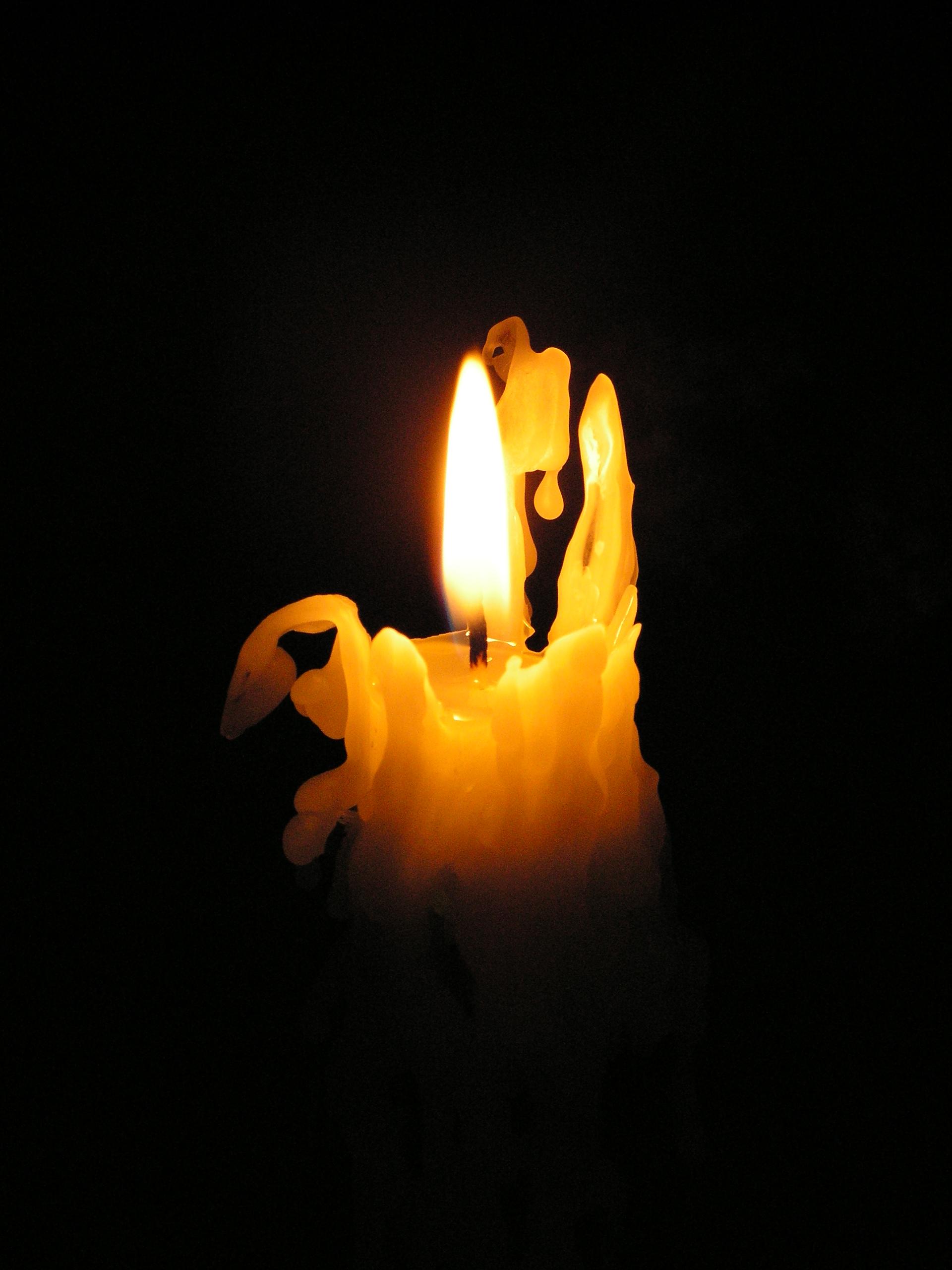 عکس شمع ترحیم